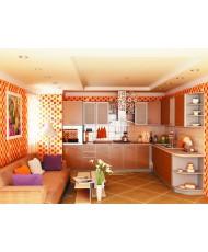 Купить недорого Кухня Капучино - Кухня Капучино (3200x2100x2132) в Украине