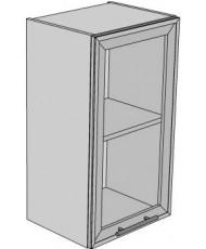 Купить недорого Кухня Капучино - Модуль верхний КАПУЧИНО (МВ 40х71,8 л/п витрина) в Украине