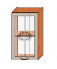 Купить недорого Кухня Классик - Модуль верхний Классик (МВ 40х71,8 л/п витрина) в Украине