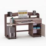 Купить недорого Компьютерный стол - LED 9 Орех Лесной  в Киеве