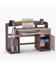 Компьютерный стол - LED 9 Орех Лесной