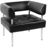 Офисный диван Примтекс Плюс D-03 одноместный с подлокотником  - цена в Киеве