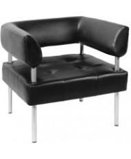 Купить недорого Офисные диваны - Офисный диван Примтекс Плюс D-03 одноместный с подлокотником  в Украине