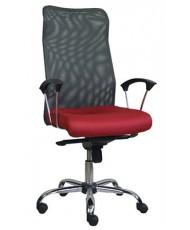 Купить недорого Кресло руководителя с хромом - КОНФО хром 3296 в Украине