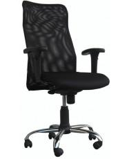 Купить недорого Кресло руководителя с хромом - КОНФО хром 3213 в Украине